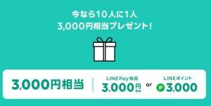 【ステップ3】LINEモバイルの公式ホームページから、申込時にキャンペーンコードを入力して3000Pか7000Pをもらう