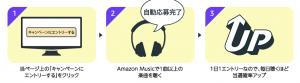 【12/29まで】Amazon music・音楽を聞くだけでスマートウォッチが当たるキャンペーン!